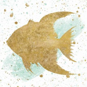 Silver Sea Life Aqua Fish