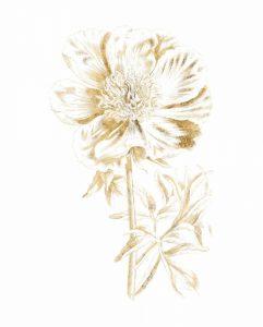Gilded Botanical VIII