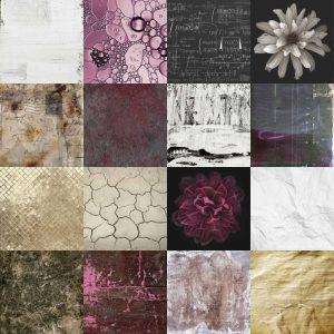 Tiles Decor Purple Notes