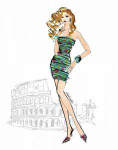 Colorful Fashion IV – Rome