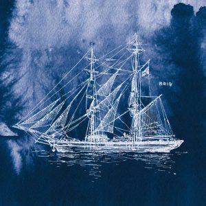 Sailing Ships IV Indigo