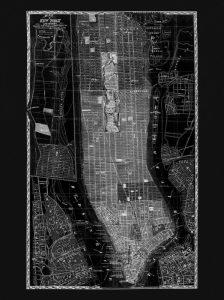 NY Map Circa 1865