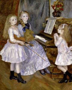 Portrait of the Daughters of Catulle Mendes