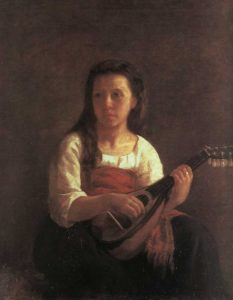The Mandolin Player 1868