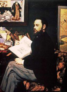 Emile Zola, 1868