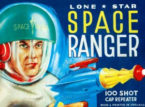Lone Star Space Ranger 100 Shot Cap Repeater