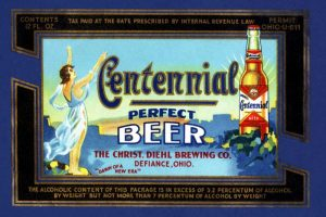 Centennial Perfect Beer Label