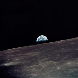 Earthrise, viewed from Apollo 10, 1969