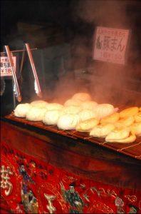 Japan, Kobe Japanese potsticker dumplings