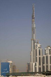 UAE, Dubai Modern architecture in a downtown