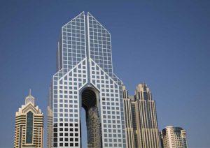 UAE, Dubai Modern Architecture in downtown