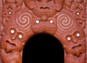 New Zealand, Rotorua Traditional Maori carving