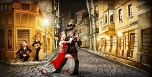 Tango in street