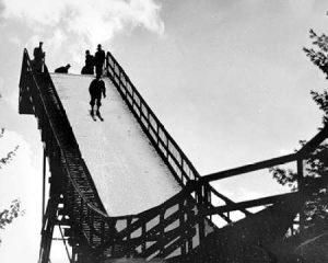 Ski Jump. Hanover, New Hampshire, 1936