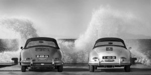 Ocean Waves breaking on Vintage Beauties