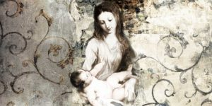 Madonna and Child-after Van Dyck