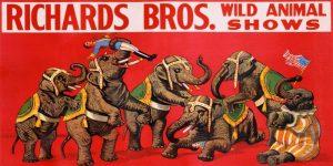 Richards Bros. Wild Animal Shows ca. 1925