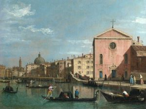 The Grand Canal facing Santa Croce, Venice