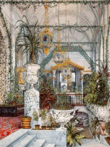 Interiors of the Winter Palace: the Winter Garden