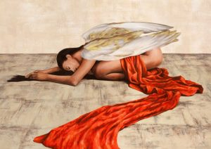 Reclined Angel