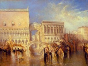 Venice – the Bridge of Sighs