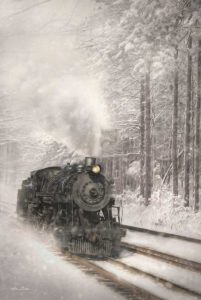Snowy Locomotive