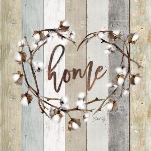 Home Cotton Wreath