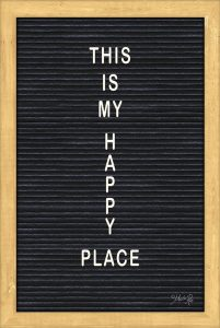 This is My Happy Place Felt Board