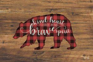 Brave Spirit Bear