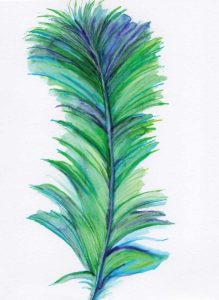 Blue Feather II