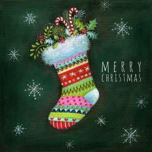 Christmas Stocking Snowflakes