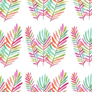 Three Bright Palms Pattern