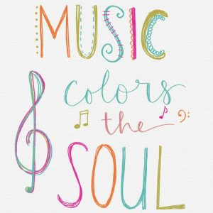 Music Colors the Soul