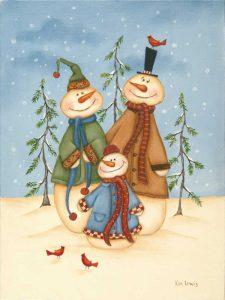 Snowman Family II