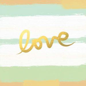 Love Stripes – Mint Gold