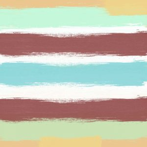 Marsala Paint Stripes