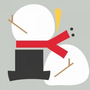 Deconstructed Snowman