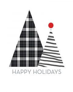 Modern Happy Holidays