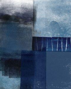 Blue Abstract I