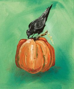 Pumpkin and Bird