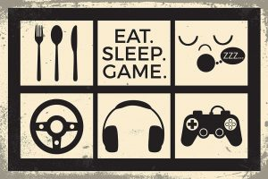 Eat Sleep Game