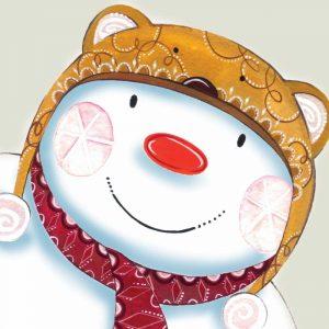 Delightful Snowman