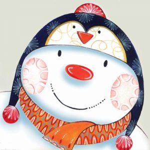 Penguin Snowman