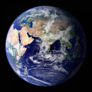 Earth View from Space (Asia)