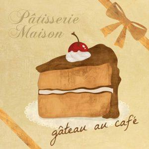 Gâteau au cafe