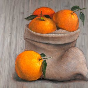 Bag of Orange Fruit