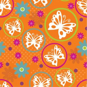 Butterflies and Blooms Lively V