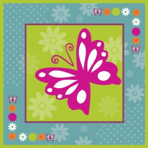 Butterflies and Blooms Lively XII