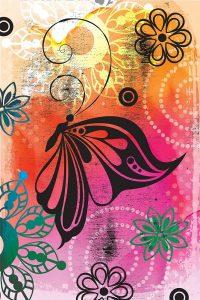 Warm Colors Florals II