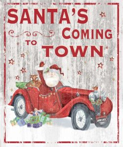 Santas Coming to Town